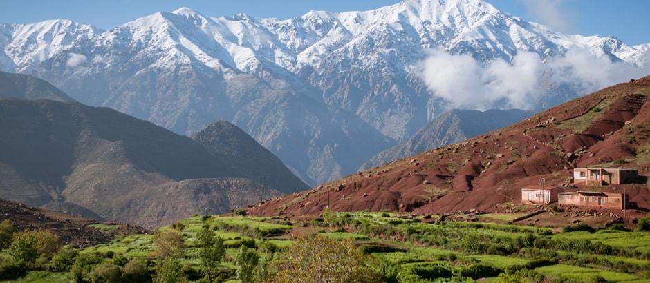 Excursión a las montañas del Atlas