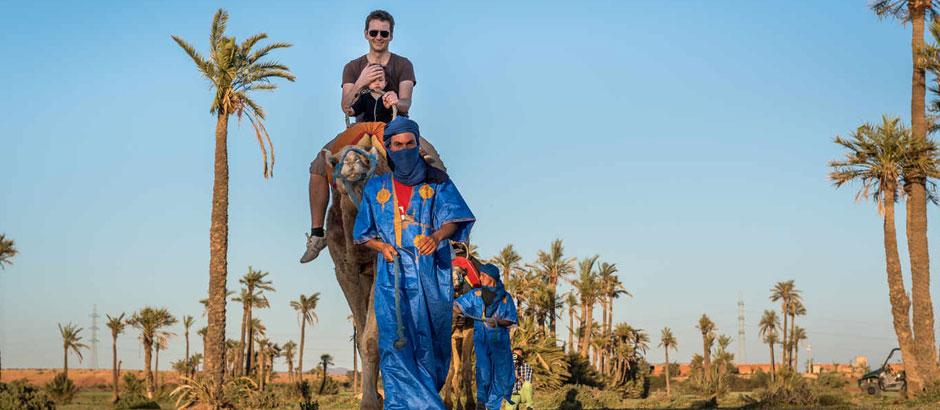 Montar en camello