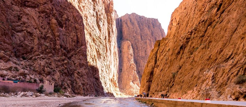 Marrakesh to Fes via desert