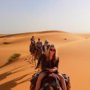 Excursión De 3 Días De Marrakech A Fez Via Merzouga